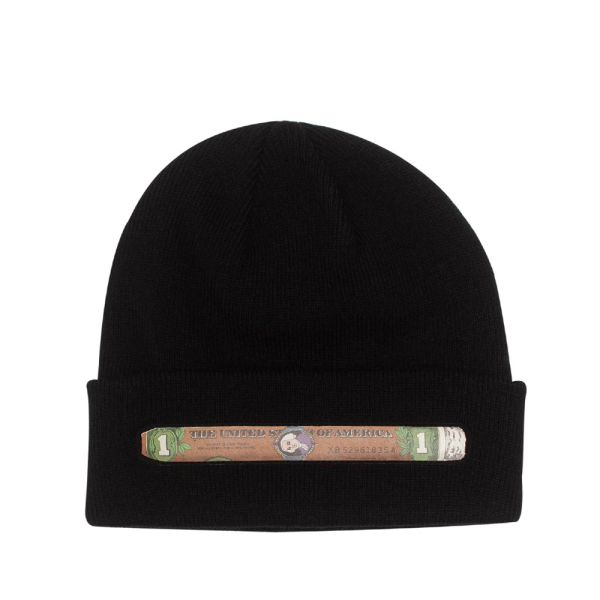 Fucking Awesome Blunt Beanie - Black