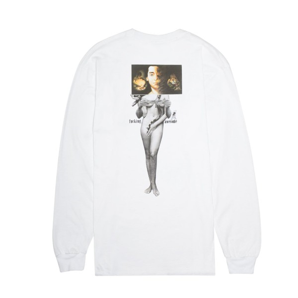 Fucking Awesome Wizard L/S Tee - White