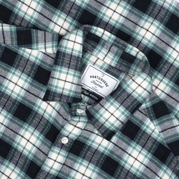 Portuguese Flannel Osmose Shirt - Green
