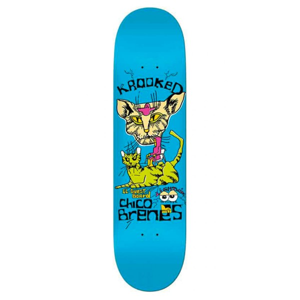 """Krooked Chico Brenes Guest Board Deck - 8,25"""""""
