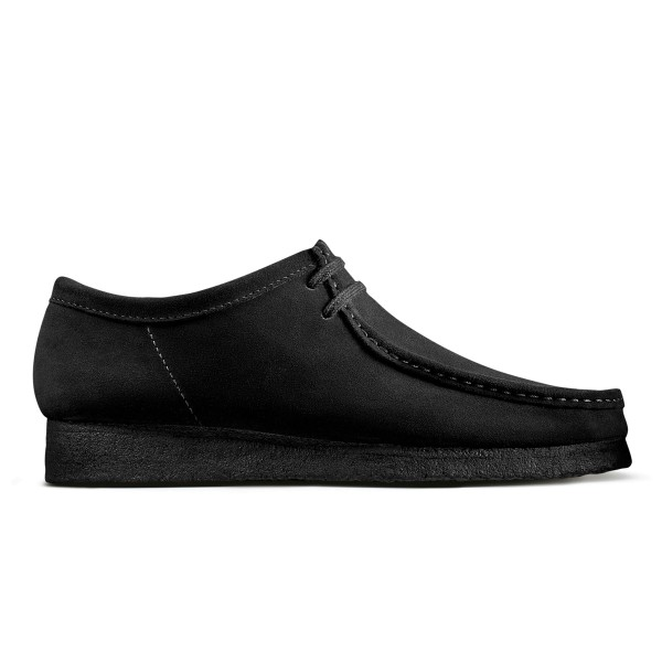 Clarks Wallabee - Black Suede