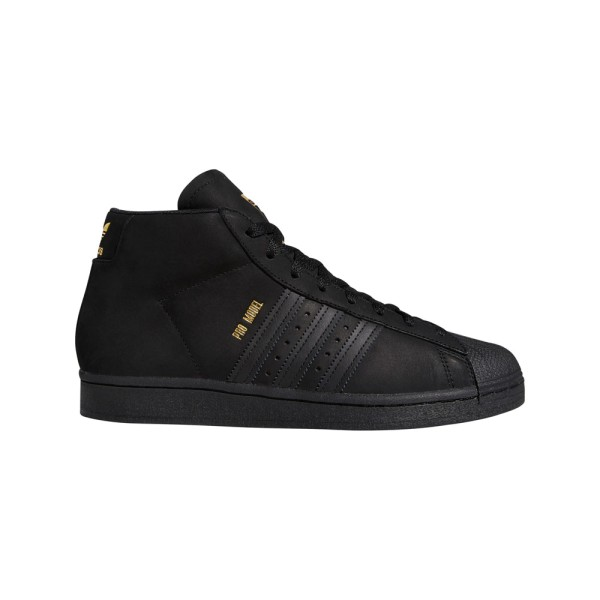 Adidas Pro Model - Core Black/Gold Metallic/Cloud White