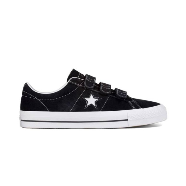 Converse One Star Pro 3V OX - Black/White