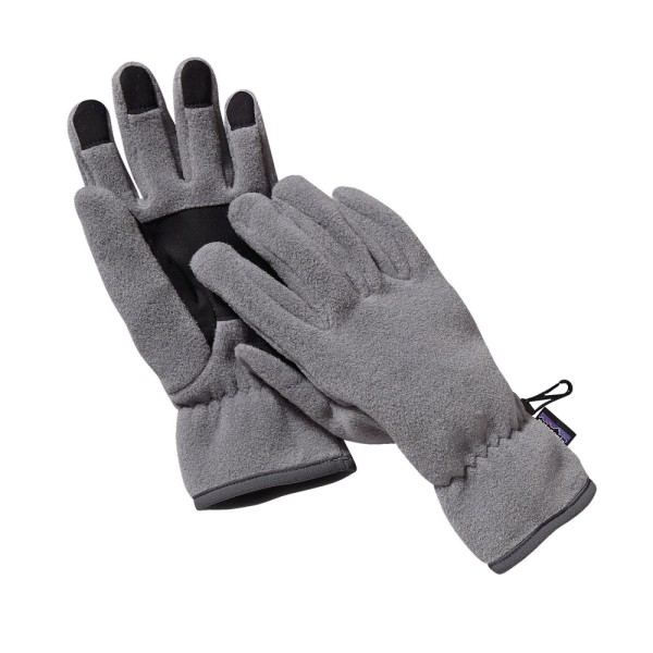 Patagonia Synch Gloves - Heather Grey