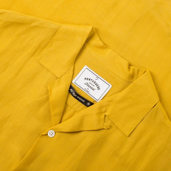 Portuguese Flannel Catown - Vintage Yellow