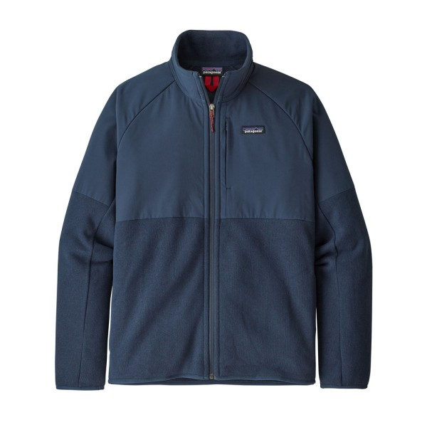 Patagonia Men's LW Better Sweater Shelled Jacket - New Navy