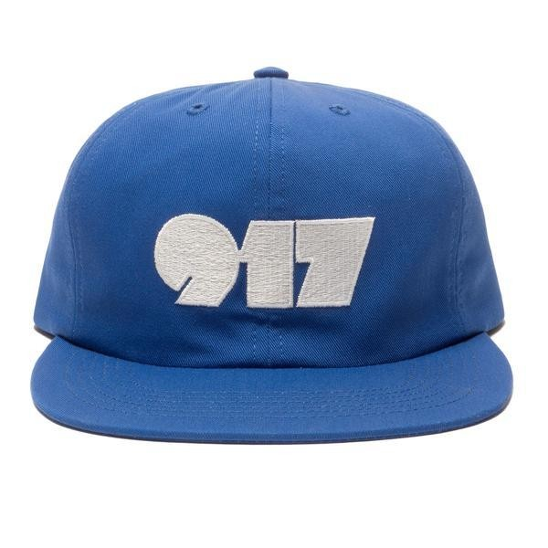 Call Me 917 Typography Cap - Navy