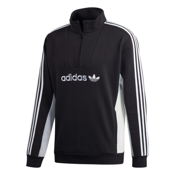 Adidas Skateboarding Mod Sweatshirt - Black/Clear Onix/White/Off White