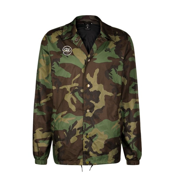 5aa7f9685642f Nike SB x Stil-Laden Shield Jacket - Camo | STIL-LADEN Skateshop