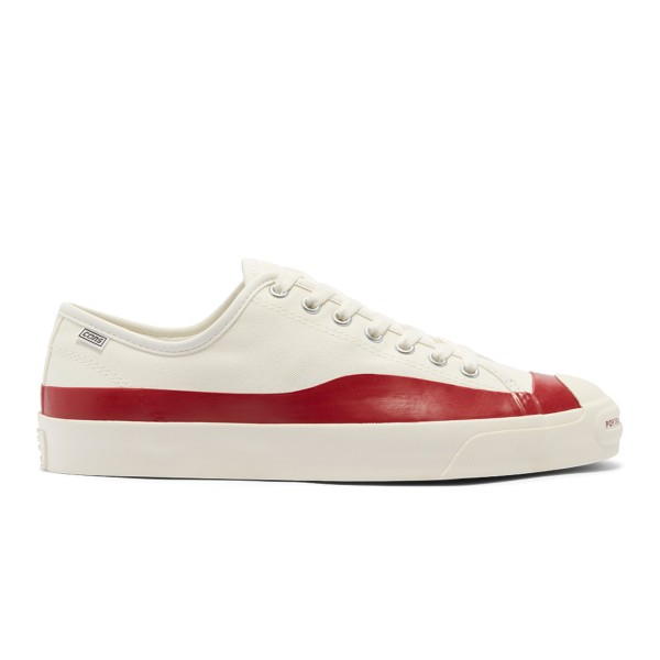 Converse Jack Purcell Pro PTC OX - Egret/ Red Dahlia