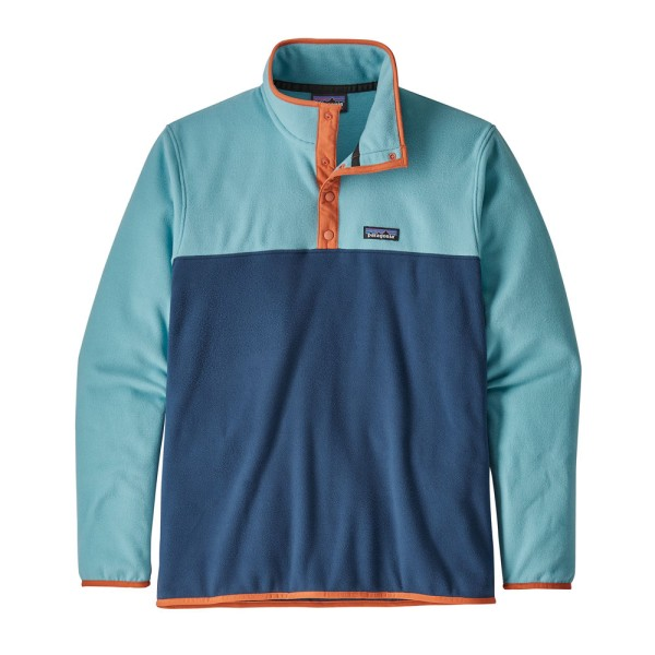 Patagonia M's Micro D Snap-T Fleece Pullover - Stone Blue/Dam Blue
