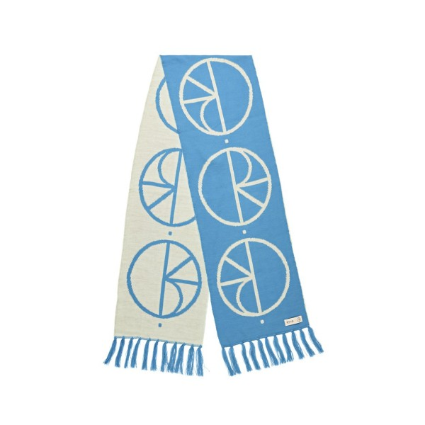 Polar Skate Co. Stroke Logo Scarf - Pool Blue
