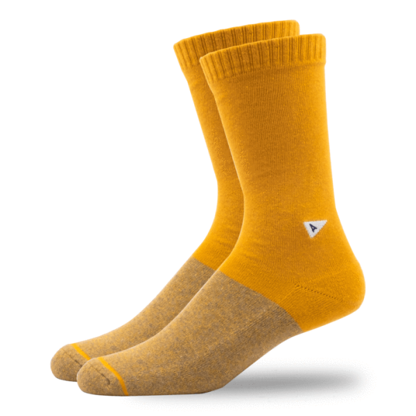 Arvin Goods Casual Sock - Yellow