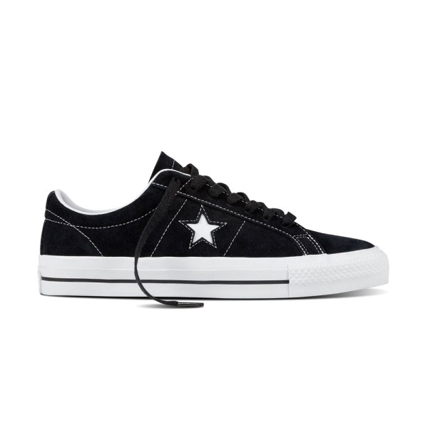 Converse One Star Pro OX - Black/White