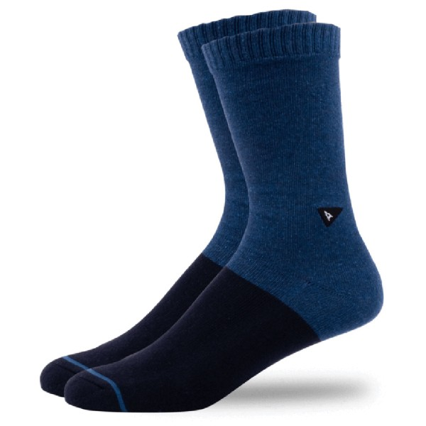 Arvin Goods Casual Sock - Blue Heather