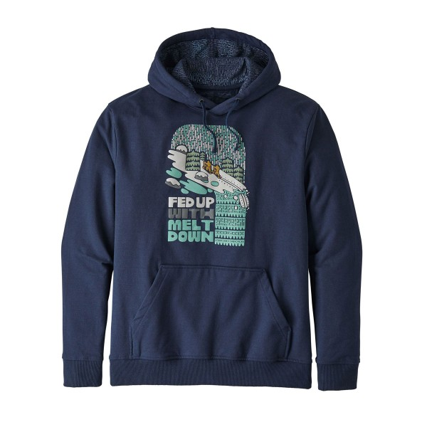 Patagonia Men's Fed Up With Melt Down Uprisal Hoodie - Classic Navy